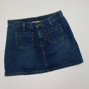 Abercrombie & Fitch Jean mini skirt size 2